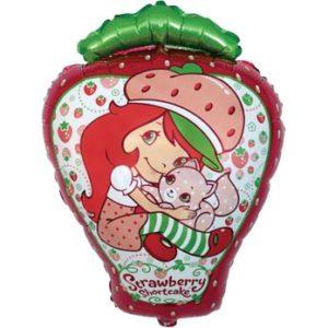 balon foliowy truskawkowe ciastko