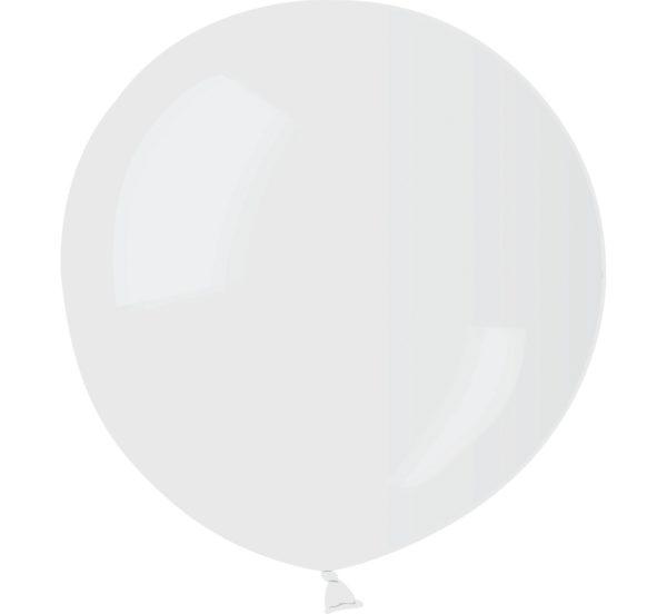 balon kula 75 cm transparentny