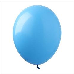 balony błękitne 12
