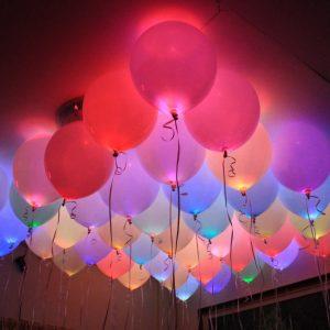 balony led kolorowe