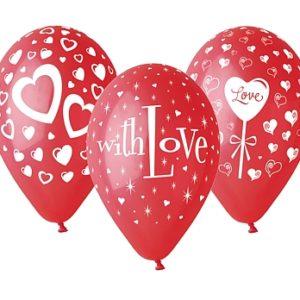 balony with love 12