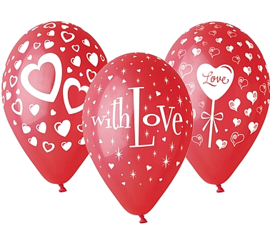 balony with love 12