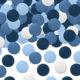 konfetti niebieskie, dekoracje na stół, dekoracje roczek, chrzciny, komunia, ślub