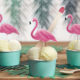 toppery na tort, toppery do muffinek, toppery flamingi