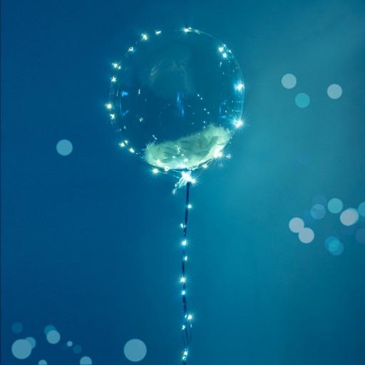 balon kula crystal transparentna 40 cm