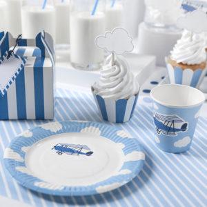 podkładki dekoracyjne, dekoracje urodzinowe dla chłopca, candy-bar