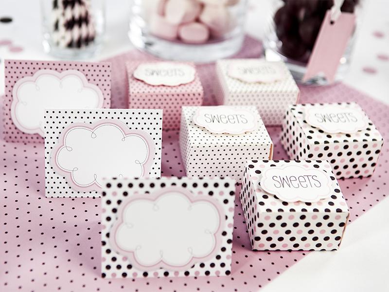 Wizytówki Na Stół Sweets 6 Sztop