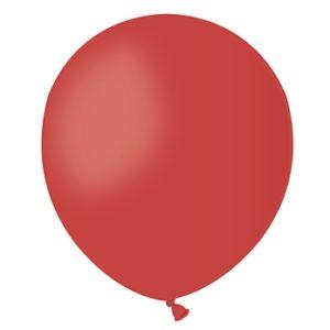 balon czerwony metalic 5''