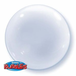 balon foliowy 24'', 60 cm bubble deco transparentny