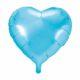 balon foliowy serce, błękitny 48 cm, balony i dekoracje balonowe, balonowe bukiety, balony z helem