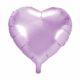 balon foliowy serce, liliowy 48 cm, balony i dekoracje balonowe, balonowe bukiety, balony z helem