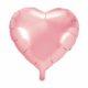 balon foliowy serce, pudrowy róż, jasny róż 48 cm, balony i dekoracje balonowe, balonowe bukiety, balony z helem