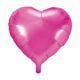 balon foliowy serce, różowy 48 cm, balony i dekoracje balonowe, balonowe bukiety, balony z helem