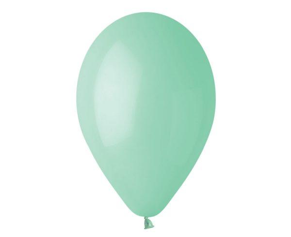 balon pastelowy miętowy 30 cm