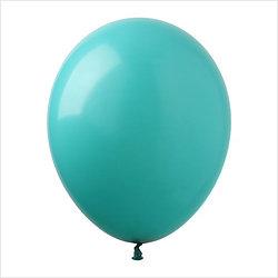 balony turkusowe 30 cm