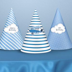 czapeczki na przyjęcie urodzinowe, czapeczki urodzinowe dla chłopca