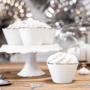 papilotki na muffinki, papilotki do ciastek, dekoracje świąteczne