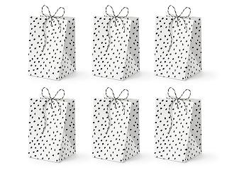 pudełka na słodycze, torebki na słodycze, urodzinowe torebki na słodkości
