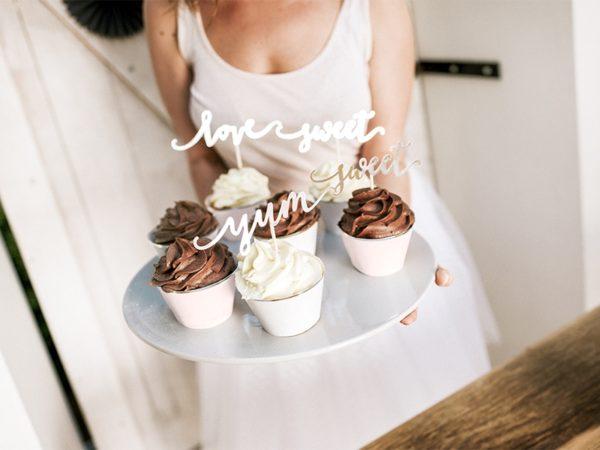 toppery na muffinki, papilotki na muffinki, dekoracje candy-bar