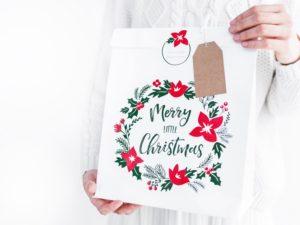 torebki ozdobne na prezenty świąteczne