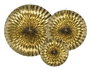 złote rozety, golden rosetts