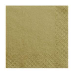 złote serwetki papierowe, złote serwetki jednorazowe, złote serwetki, dekoracje na przyjęcia, golden tisuues