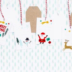 zawieszki bożonarodzeniowe na prezenty