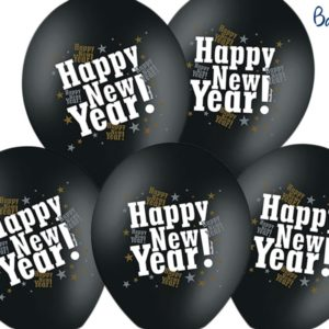 balony happy new year, balony na Nowy Rok, balony na Sylwestra, balony na Karnawał