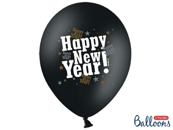 balony na Nowy Rok, balony happy new year, balony na Sylwestra, balony na Karnawał