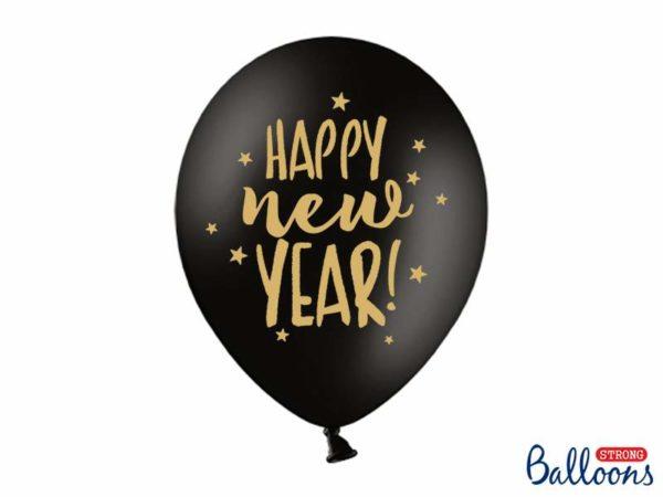balony na sylwestra happy new year, balony na Nowy Rok, balony happy new year