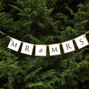 baner na wesele, baner na ślub,baner na ściankę za Młodą Parą, dekoracje weselne, dekoracje candy-bar