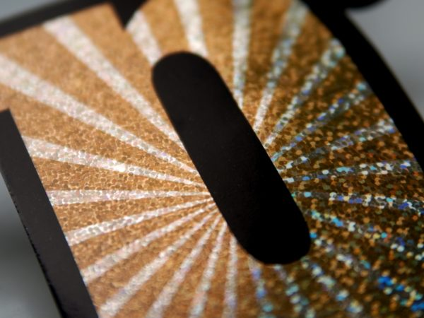 dekoracyjny baner noworoczny, baner happy new year, holograficzny baner na Sylwestra, karnawał