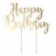 topper na tort urodzinowy różowe złoto, złoty róż, golden rose,