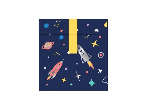 torebki na słodycze kosmos, dekoracje urodzinowe kosmiczne, dekoracje kosmos na balik przebierańców, dekoracje urodzinowe dla chłopca, dekoracje karnawalowe dla dzieci, dekoracje na balik dla dzieci