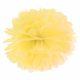 słoneczny żółty pompon papierowy 35 cm, dekoracje candy-bar, dekoracje ślubne, dekoracje na wystawy sklepowe