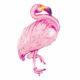 balon różowy flaming, dekoracje Hawaii, dekoracje na egzotyczne przyjęcia, egzotyczne dekoracje na imprezy, dekoracje na tropikalną imprezę