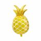 balon złoty ananas, dekoracje na egzotyczne przyjęcia, egzotyczne dekoracje na imprezy, balon ananas złoty