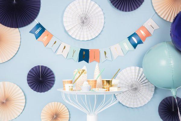 baner na urodziny dla chłopca, baner happy birthday kolorowy, baner urodzinowy ,dekoracje urodzinowe, dekoracje na impreze