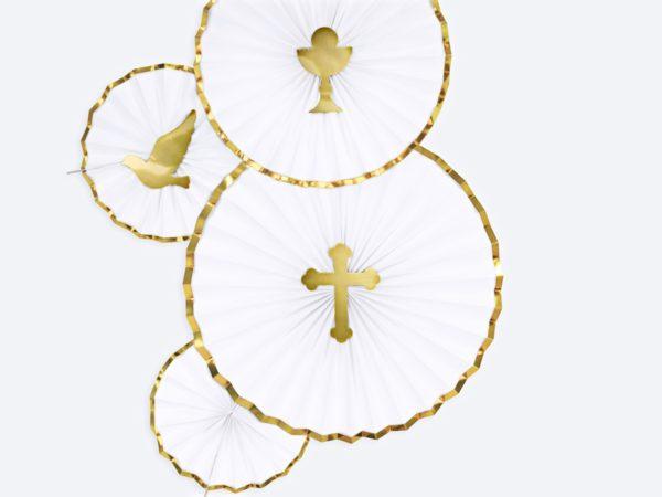 dekoracja sali na I komunię, dekoracje ciast na I komunię