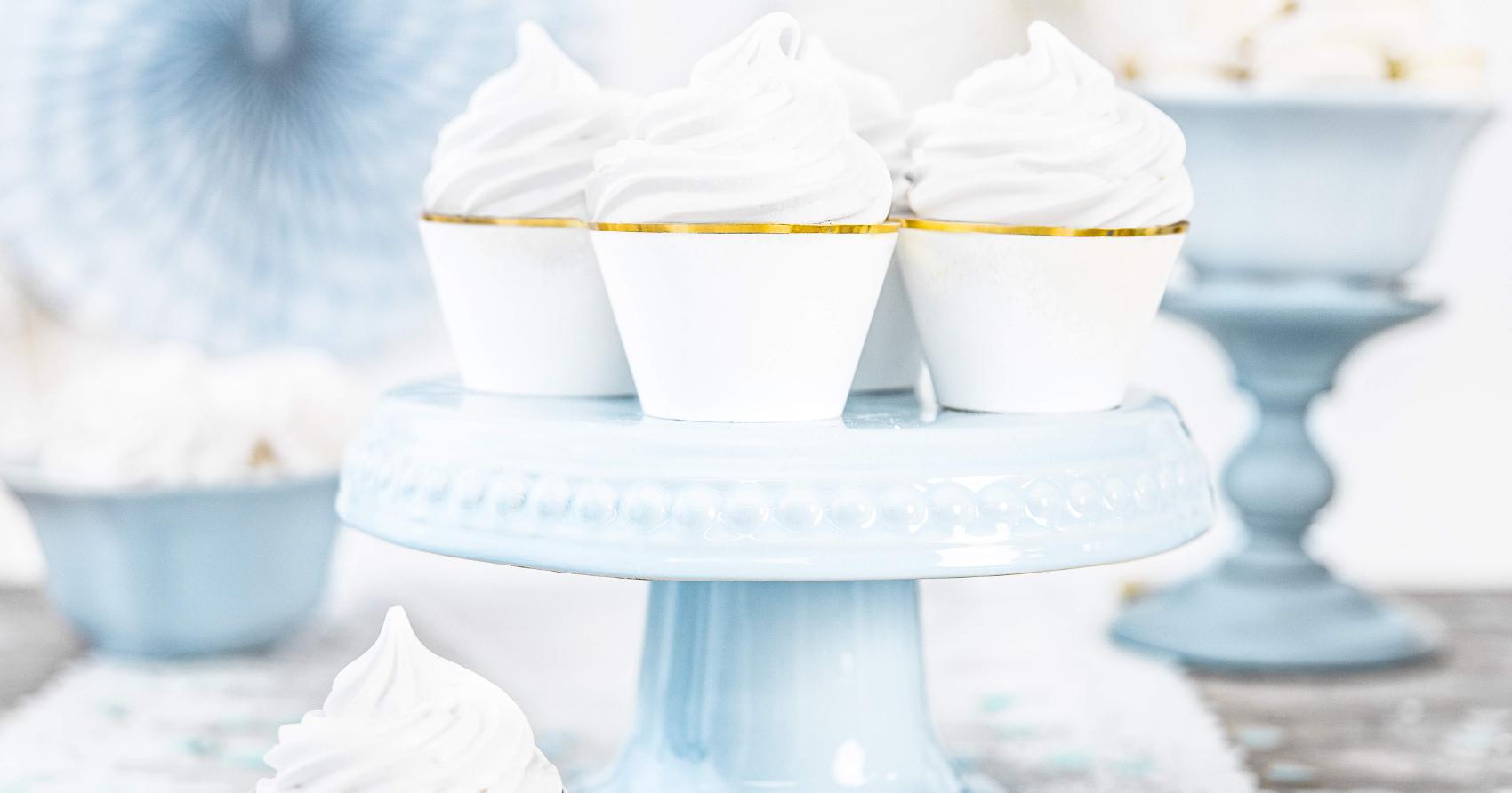 papilotki na muffinki, dekoracje na przyjęcia