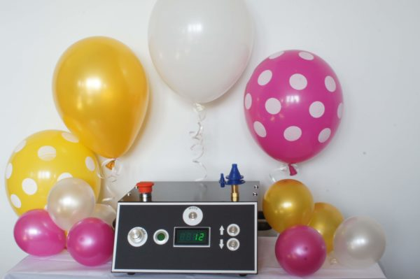 urządzenie do pompowania balonów helem, maszyna do pompowania balonów, pompka elektryczna do balonów, wąż do helu