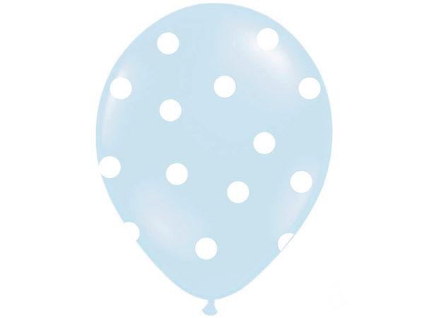 balony błękitne ze słonikiem, balony na Roczek, balony z helem dla malucha, Chrzciny, urodzinki