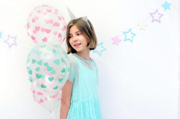 balony przezroczyste w serduszka, transparentne balony crystal-001