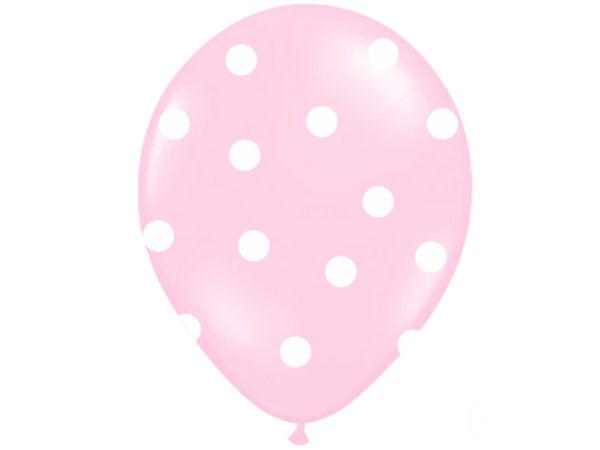 balony różowe ze słonikiem dla dziewczynki, balony na Roczek, balony z helem dla malucha, Chrzciny, urodzinki dziewczynki
