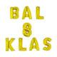 BAL 8 KLAS balony foliowe napis