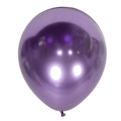 balon fioletowy chromowany na 18stki, wesela, karnawał, dekoracje balonowe