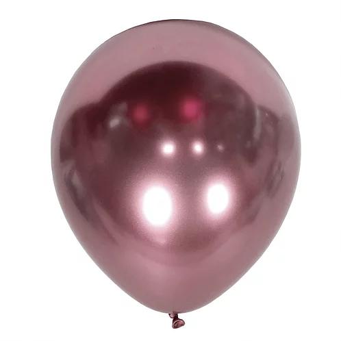 balon różowy chromowany na 18stki, wesela, karnawał, dekoracje balonowe