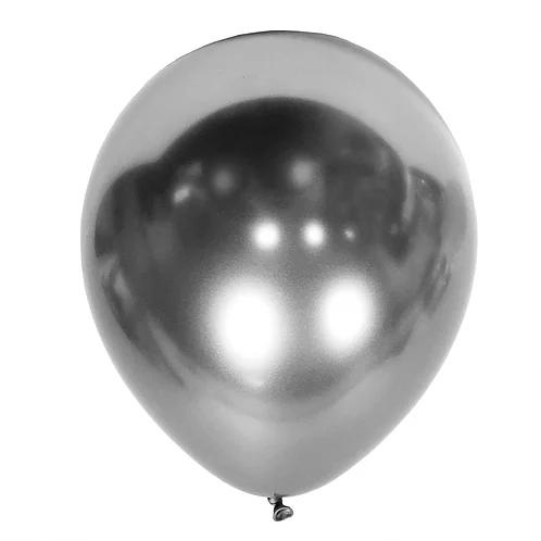 balon srebrny chromowany na 18stki, wesela, karnawał, dekoracje balonowe