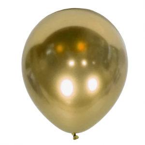 balon złoty chromowany na 18stki, wesela, karnawał, dekoracje balonowe