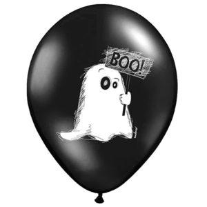 balon z duszkiem na halloween